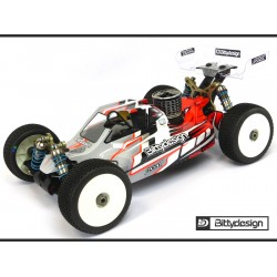 Bittydesign Force Clear body for Kyosho TKI4