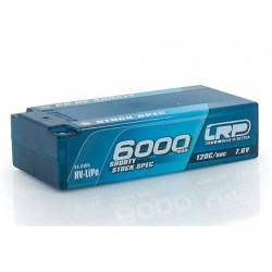 LRP P5-HV SHORT STOCK SPEC 6000MAH 7,6V LIPO 120C/60C