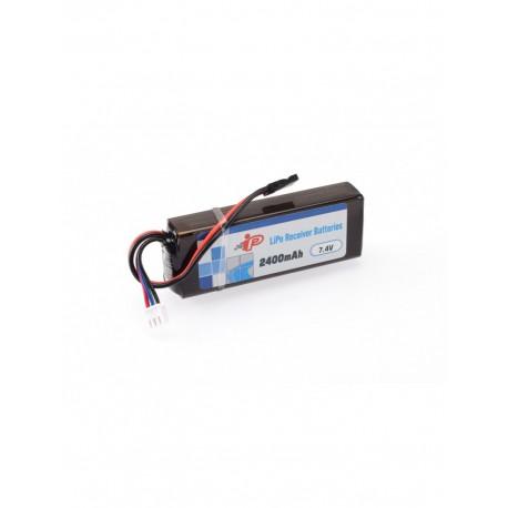 Intellect 2400mAh 7.4V RX LiPo Straight
