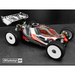 Bittydesign Vision Kyosho MP10 Body Clear (precut)